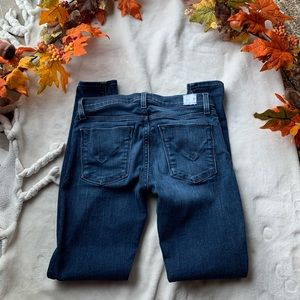 Medium wash Hudson Skinny jeans